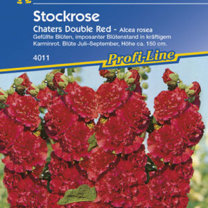 Vrtnarstvo Breskvar - Alcea rosea Chaters Double Red