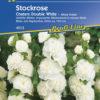 Vrtnarstvo Breskvar - Alcea rosea Chaters Double White
