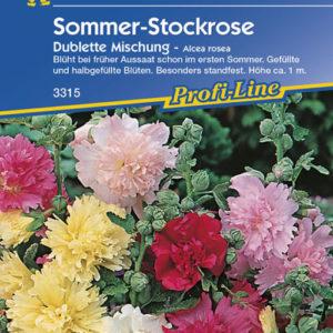 Vrtnarstvo Breskvar - Alcea rosea Dublette Mix