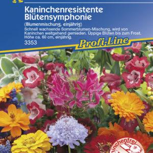 Vrtnarstvo Breskvar - Blütensymphonie kaninchenresistante Mix
