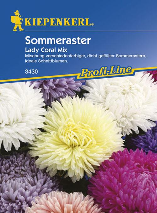 Vrtnarstvo Breskvar - Callistephus chinensis Lady Coral Mix