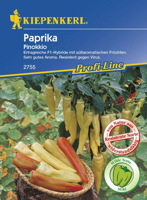 Vrtnarstvo Breskvar - Capsicum annuum Pinokkio F1