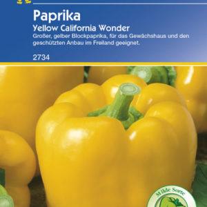Vrtnarstvo Breskvar - Capsicum annuum Yellow California Wonder