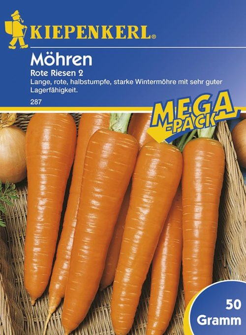 Vrtnarstvo Breskvar - Daucus carota Rote Riesen 2 Mega Pack