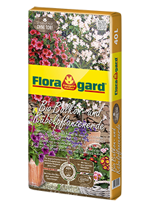 Vrtnarstvo Breskvar - Floragard Bio Potting Soil for Balcony and Container Plants without Peat