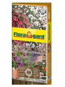 Vrtnarstvo Breskvar - Floragard Bio Potting Soil for Balcony and Container Plants without Peat