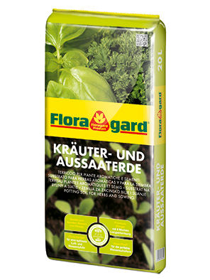 Vrtnarstvo Breskvar - Floragard Potting Soil for Herbs and Sowing