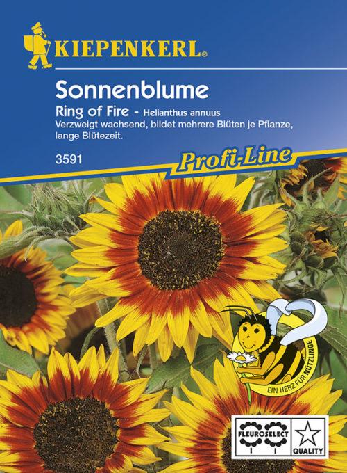 Vrtnarstvo Breskvar - Helianthus annuus Ring of Fire