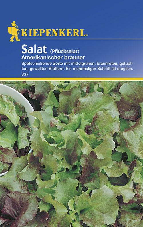 Vrtnarstvo Breskvar - Lactuca sativa Amerikanischer Brauner