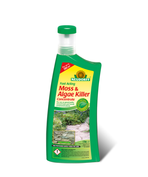 Vrtnarstvo Breskvar - Neudorff Fast Acting Moss & Algae Killer Concentrate