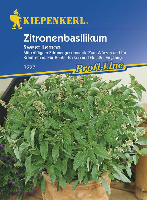 Vrtnarstvo Breskvar - Ocimum basilicum Sweet Lemon