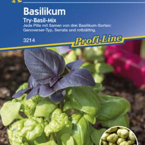Vrtnarstvo Breskvar - Ocimum basilicum Try-Basil-Mix