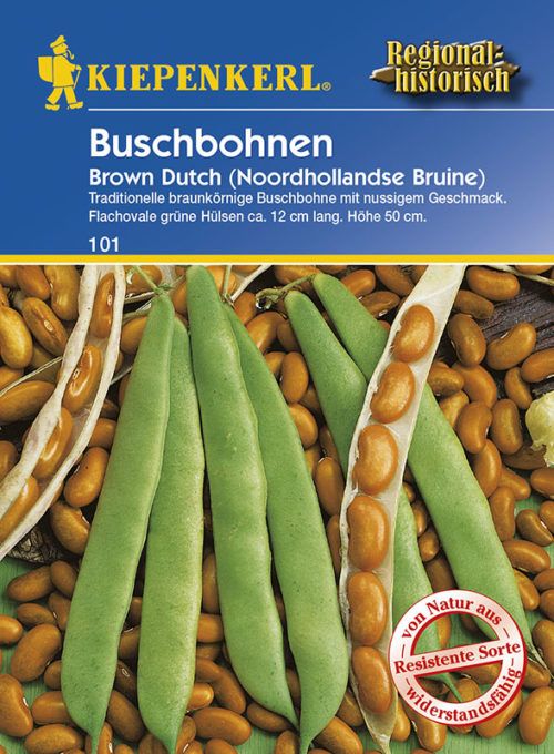 Vrtnarstvo Breskvar - Phaseolus vulgaris Brown Dutch