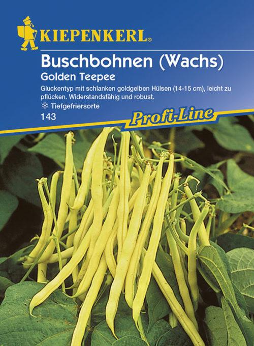 Vrtnarstvo Breskvar - Phaseolus vulgaris Golden Teepee