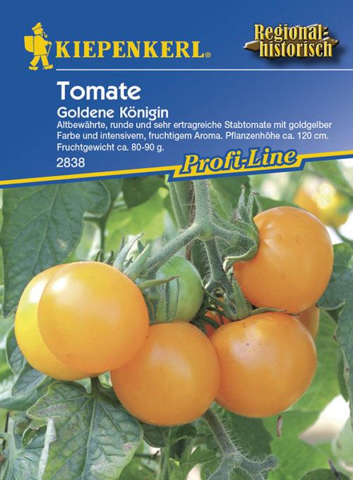 Solanum lycopersicum Goldene Königin