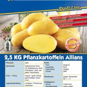 Vrtnarstvo Breskvar - Solanum tuberosum Allians