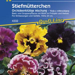 Vrtnarstvo Breskvar - Viola wittrockiana Orchideenblütige Mix