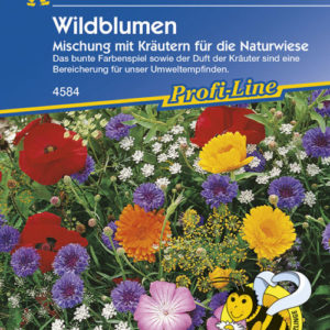 Vrtnarstvo Breskvar - Wildblumen mit Kräutern Mix