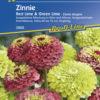 Vrtnarstvo Breskvar - Zinnia elegans Red Lime & Green Lime
