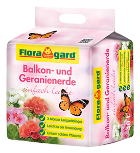 Vrtnarstvo Breskvar - Floragard Potting Soil for Balcony Plants Light and Easy