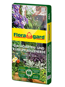 Floragard Potting Soil for Container and Roof-Top Plants